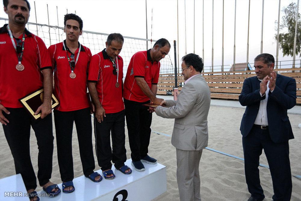 فینال مسابقات والیبال ساحلی کارکنان سازمان بنادر و دریانوردی