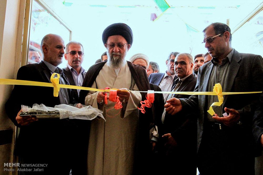 مراسم افتتاح مدرسه خیری امام حسن مجتبی (ع)
