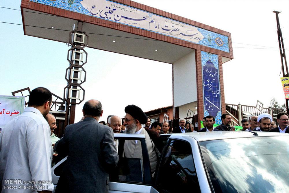 مراسم افتتاح مدرسه امام حسن مجتبی (ع)