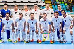 دیدار تیم ملی فوتسال ایران و روسیه