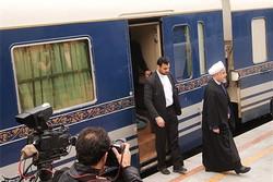 رئیس جمهور وارد قزوین شد