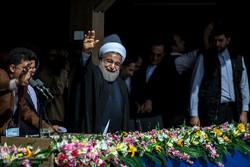 President Rouhani in Qazvin