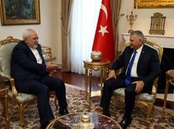 VIDEO: Zarif meets Turkish PM