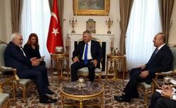 Zarif, Yıldırım discuss regional developments