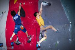 نفرات برتر رقابتهای سنگنوردی در زنجان به روی سکو رفتند
