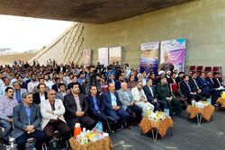 تقاطع غیر همسطح خلیج فارس قزوین افتتاح شد