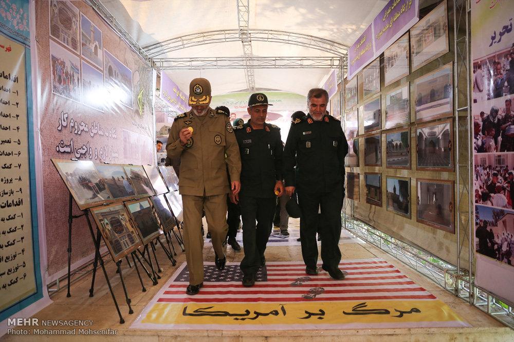 افتتاح پروژههای محرومیتزدایی نیروی زمینی سپاه