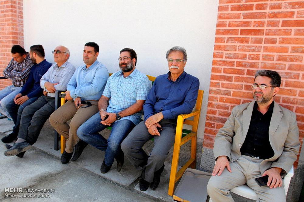 مراسم افتتاح مدرسه راهنمایی حضرت امام علی (ع) مینودشت