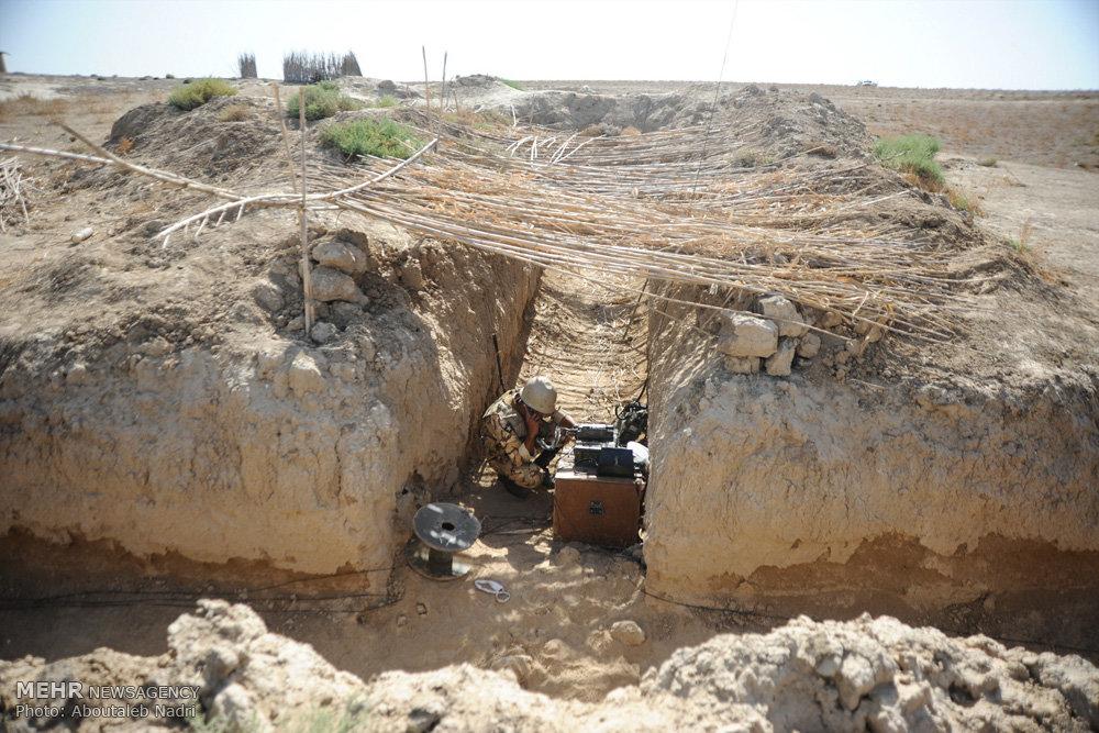 رزمایش حیدر کرار در استان گلستان