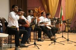 نشست موسیقی و کنسرت تلفیقی در گناوه برگزار شد