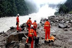 فقدان 32 شخصاً وإنقاذ 15 آخرين بسبب انهيار أرضى في الصين