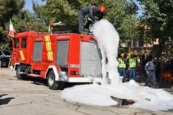 ارائه ۵۰ هزار نفرساعت آموزش شهروندی توسط سازمان آتش نشانی همدان