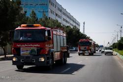پوشش راهپیمایی ۲۲ بهمن با همراهی ۳۰۰ آتشنشان