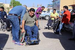 همایش پیاده روی و مسابقات ورزشی جانبازان و معلولین