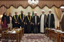 Iran's Judiciary chief meets Omani AG
