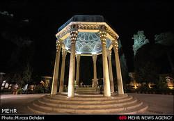 آرامگاه «لسان الغیب» میزبان دوستداران و مسئولین است