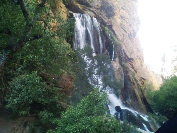 عروس آبشارهای ایران ثبت ملی شد