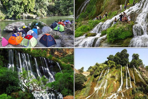 سفر به۷ آبشار رؤیایی؛از دانههای الماسی «آب سفید» تا جادوی «بیشه»