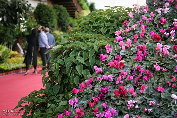 Flower exhibition in Tehran