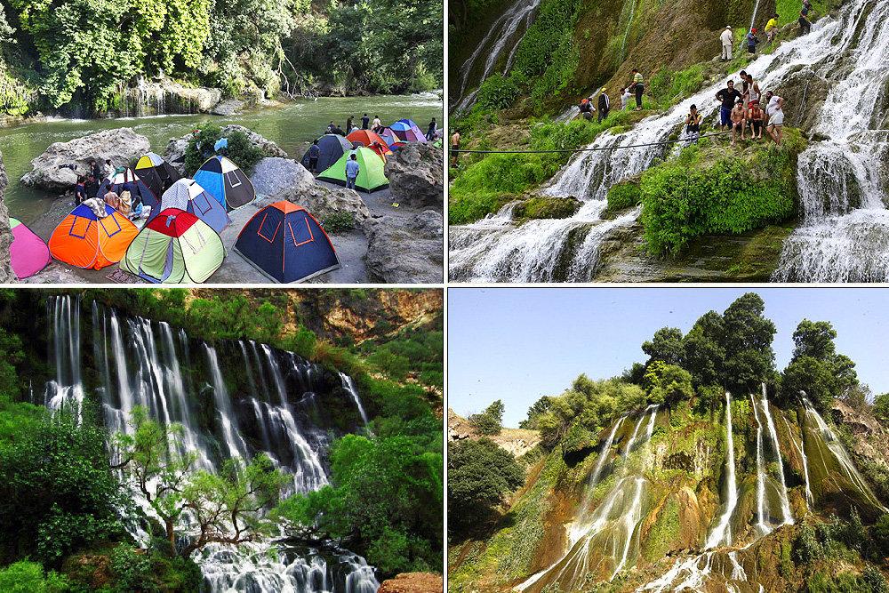 سفر به ۷ آبشار رؤیایی؛ از دانههای الماسی «آب سفید» تا جادوی «بیشه»