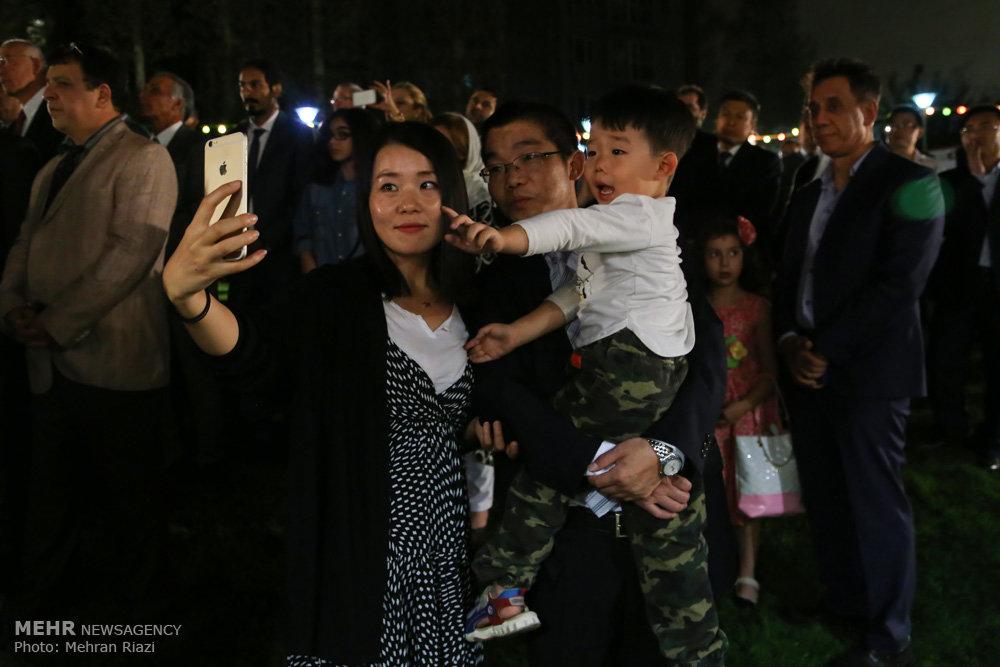 مراسم روز ملی چین
