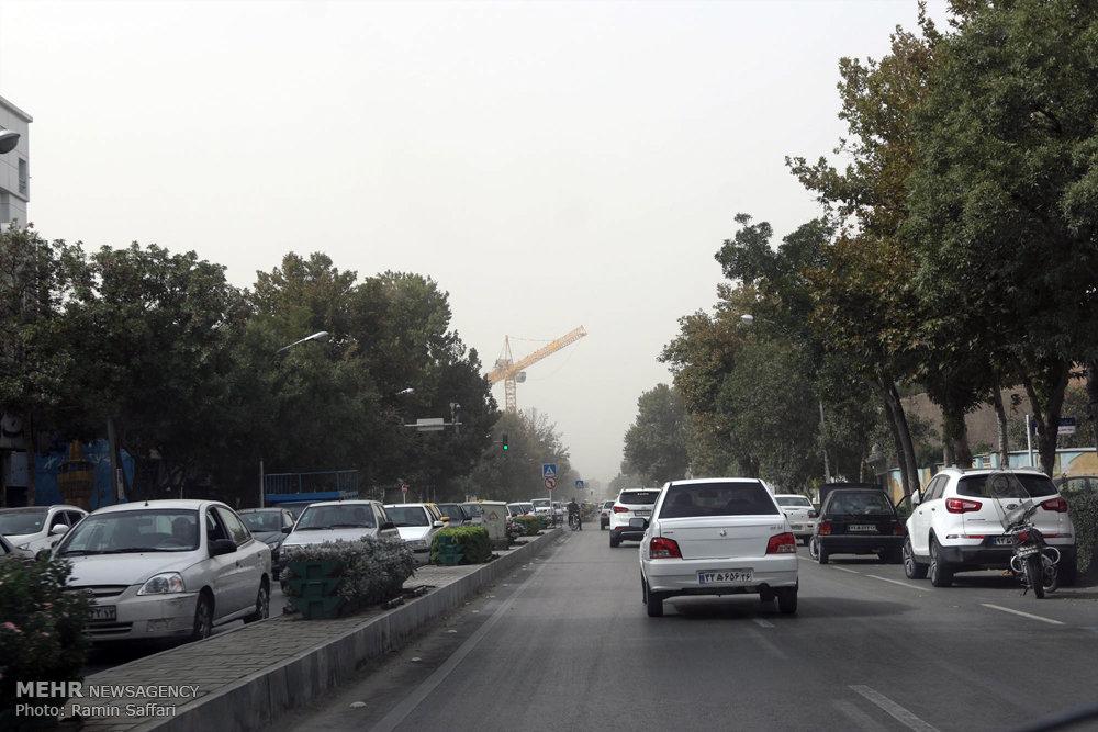 آلودگی هوا در مشهد
