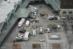 ABD'de yaşanan dehşet tren kazasından kareler