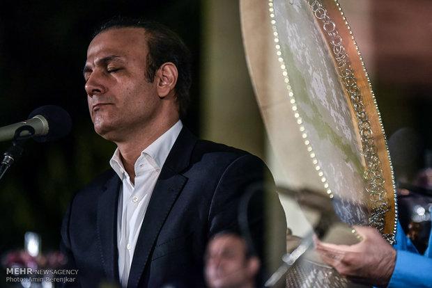 علیرضا قربانی در آیین بزرگداشت یادروز حافظ  در شیراز