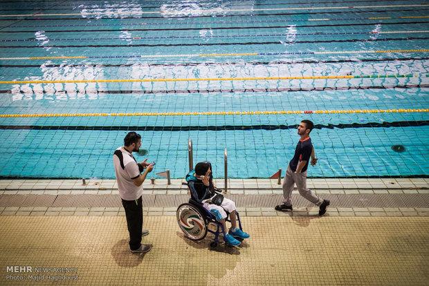 بطولة ايران للسباحة لذوي الاحتياجات الخاصة وجرحى الحرب
