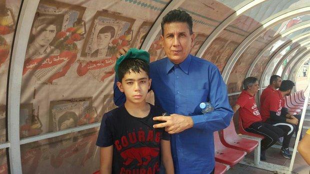 پسر ۱۰ ساله  ساکن روسیه  در آغوش محسن مسلمان به هوش آمد