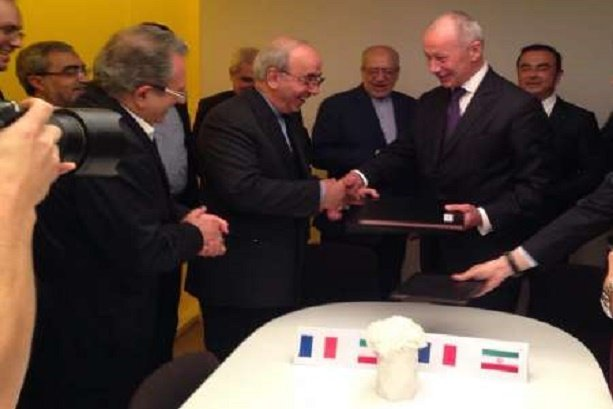 Renault signs MoU with Iran to create new joint venture