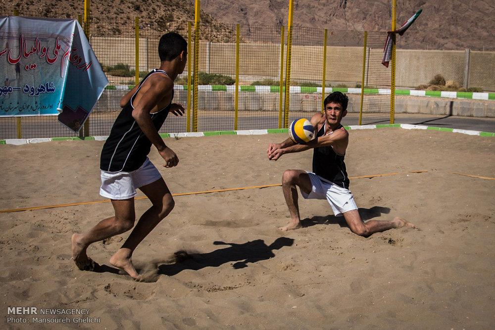 اردوی تیم ملی نوجوانان والیبال ساحلی در شاهرود