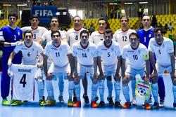 المنتخب الايراني لكرة الصالات يتبوأ المركز السادس عالمياً