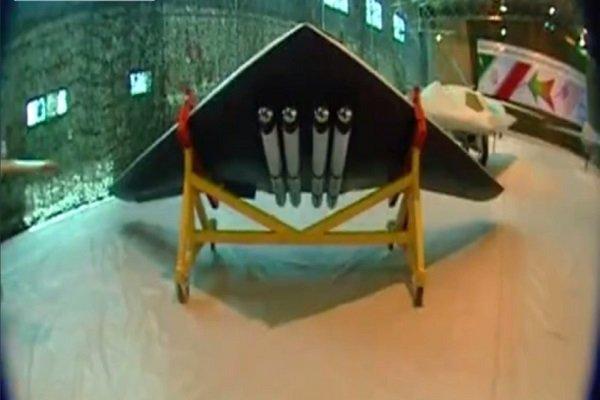 ازاحة الستار عن احدث طائرة مسيرة ايرانية تضاهي الطائرات الامريكية