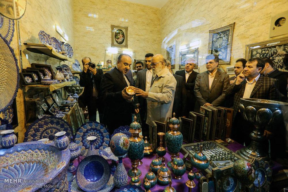 افتتاح بازار عودلاجان