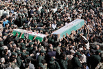 پیکر ۴ شهید گمنام در کرمانشاه تشییع و خاکسپاری میشود