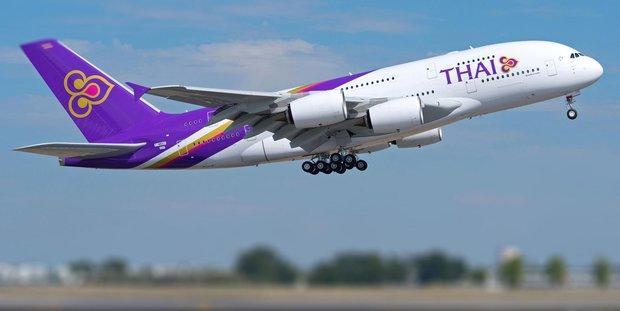 First Thai aero plane lands at IKIA