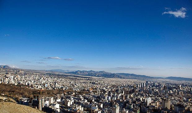 هوای روز جمعه تهران سالم است