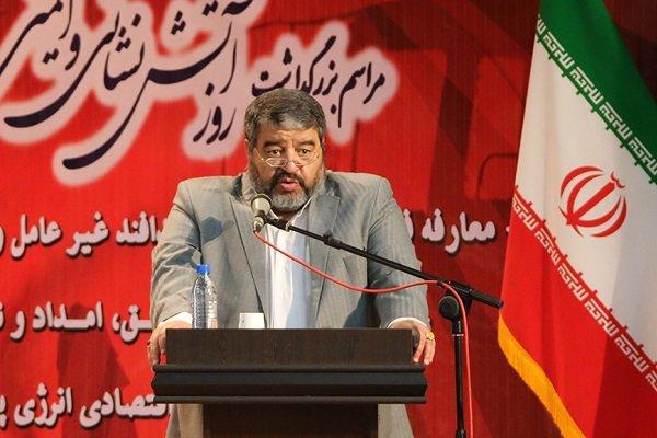 العميد جلالي: الاعلام الامريكي يسعى إلى تحريض الشعب الايراني