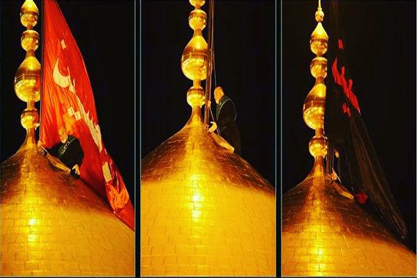 عملیات انتقال گنبد امام حسین(ع)به عراق در چهار مرحله انجام میشود
