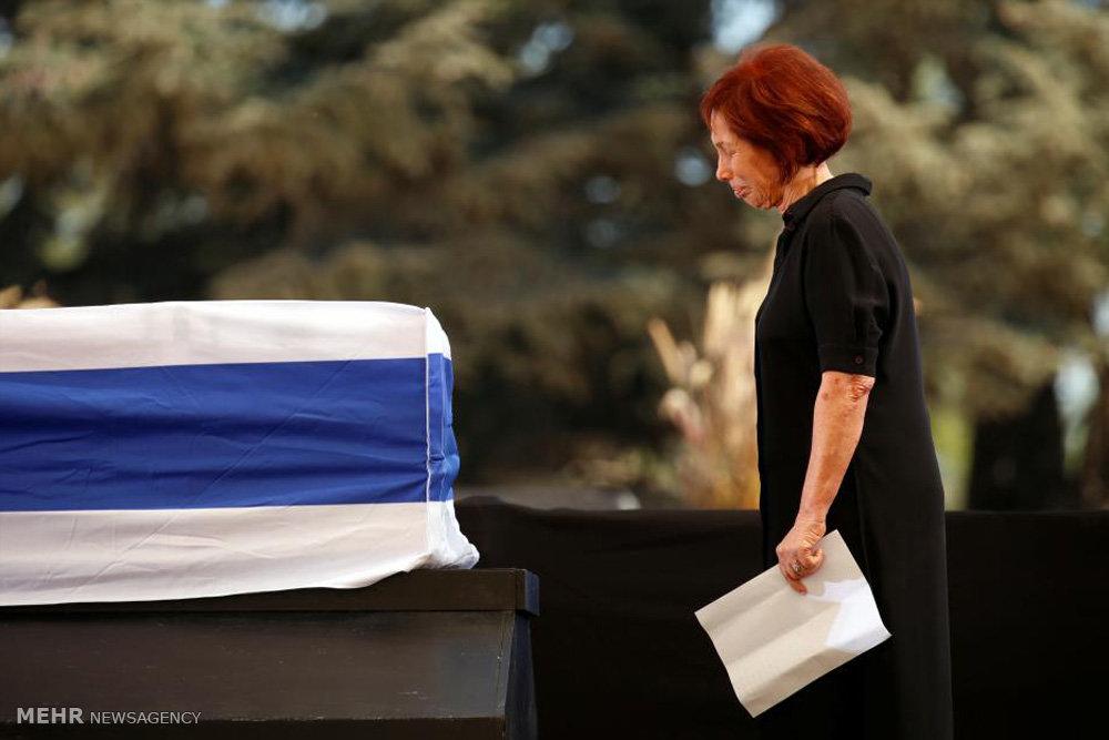 تشییع جنازه شیمون پرز