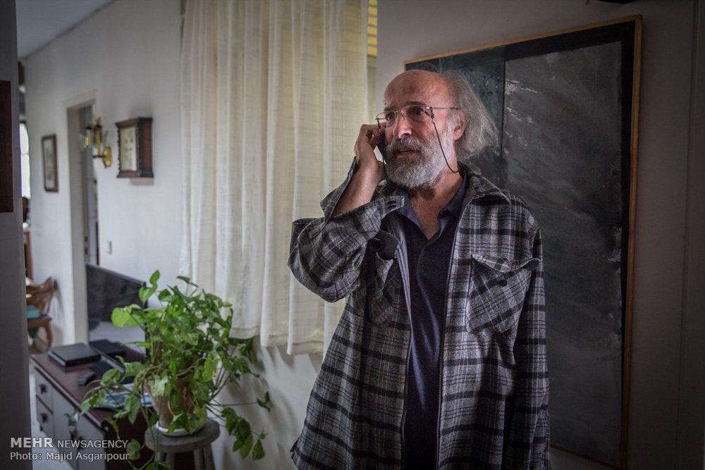 پشت صحنه فیلم کاناپه به کارگردانی کیانوش عیاری
