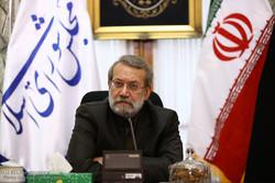 نشست مشترک اعضای کمیسیون کشاورزی با علی لاریجانی رئیس مجلس شورای اسلامی