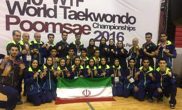 Iran lands 8th with 14 medals