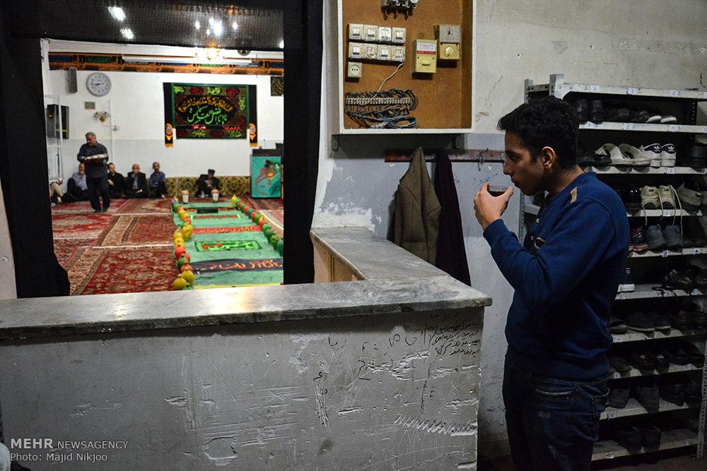 مراسم قلک شکنی ماه محرم در مازندران