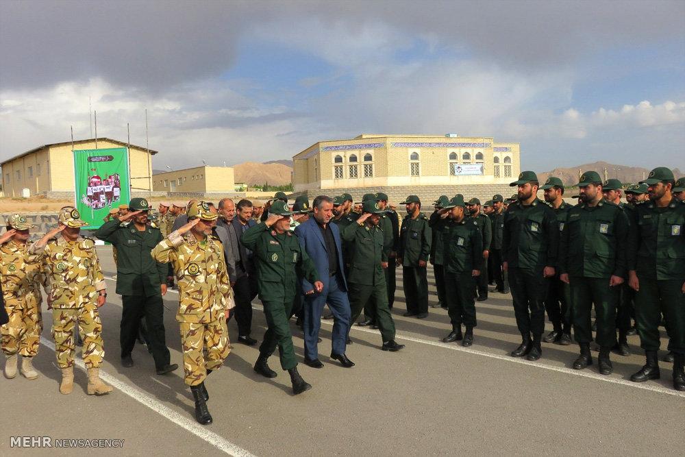 صبحگاه مشترک نیروهای مسلح در شاهرود