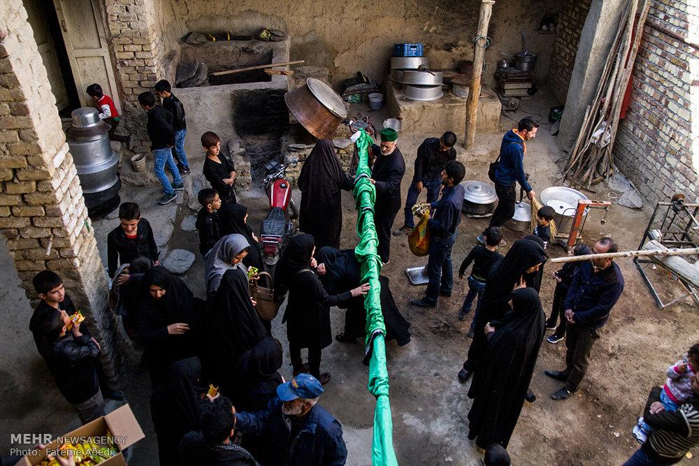 آیین سنتی علم گردانی در روستای هزاوه اراک