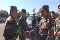 فیلم/بازدید وزیر دفاع سوریه از حومه لاذقیه