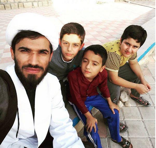 «علیرضا علیپور»طلبهای که با فوتبال تبلیغ میکند+تصاویر
