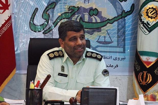 سرهنگ مجتبی اشرفی فرمانده نیروی انتظامی شاهرود